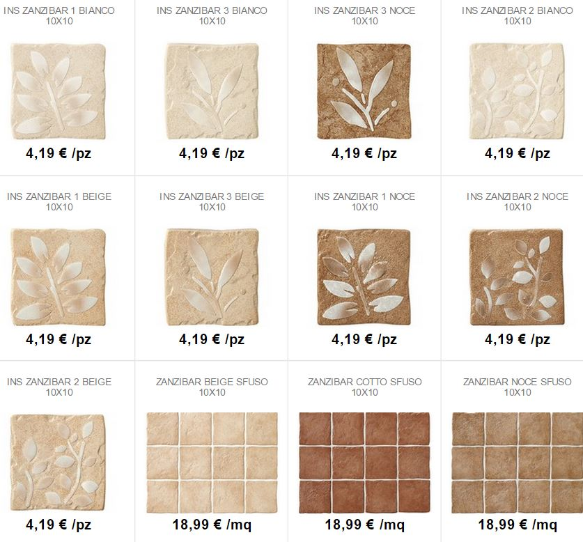 Piastrelle 10x10 beautiful piastrelle x decoro nisida with piastrelle 10x10 perfect piastrelle - Piastrelle cucina 10x10 ...