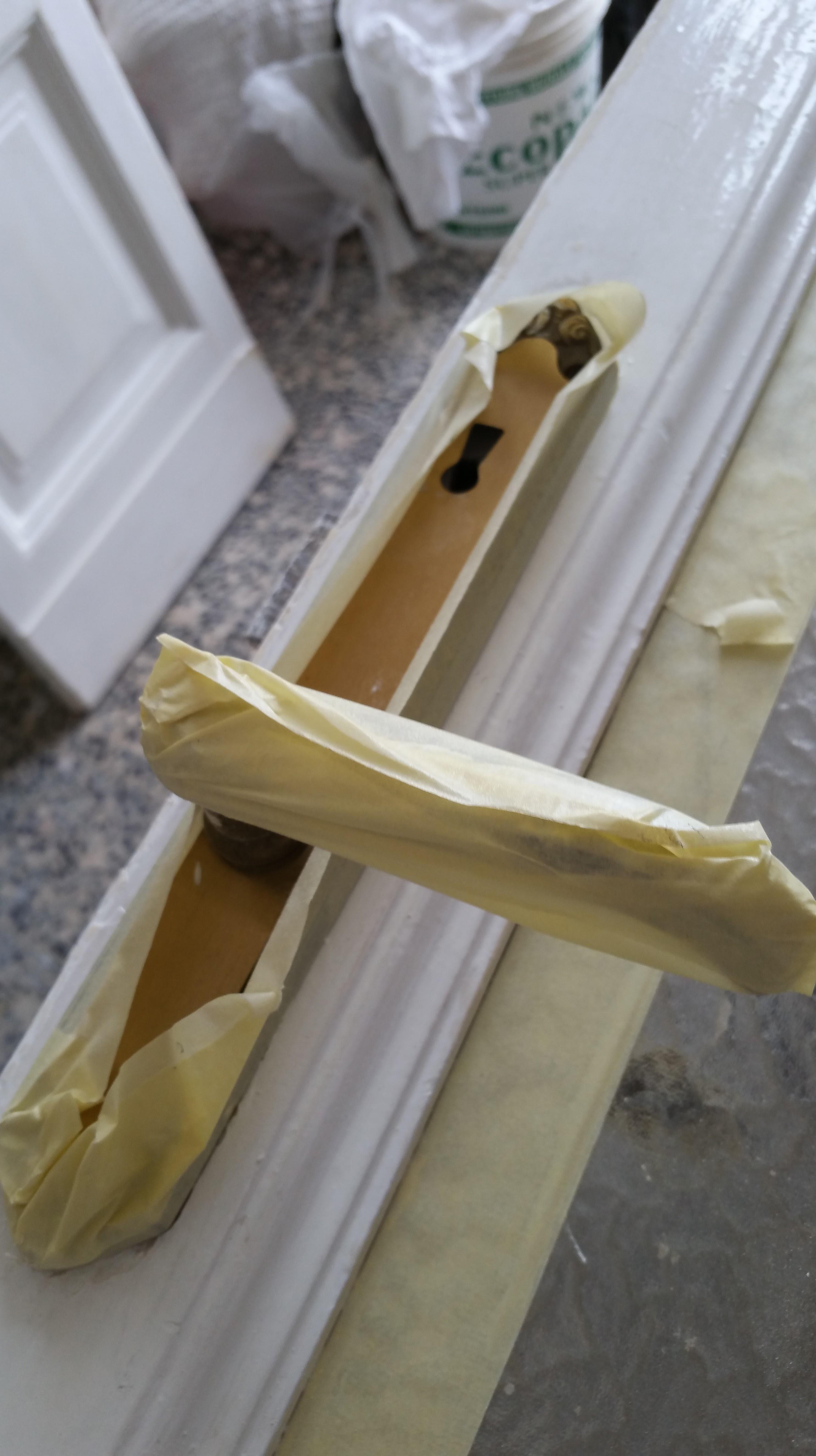 Verniciare porte interne laminato porta bianca intagliata with verniciare porte interne - Stipiti porte interne ...