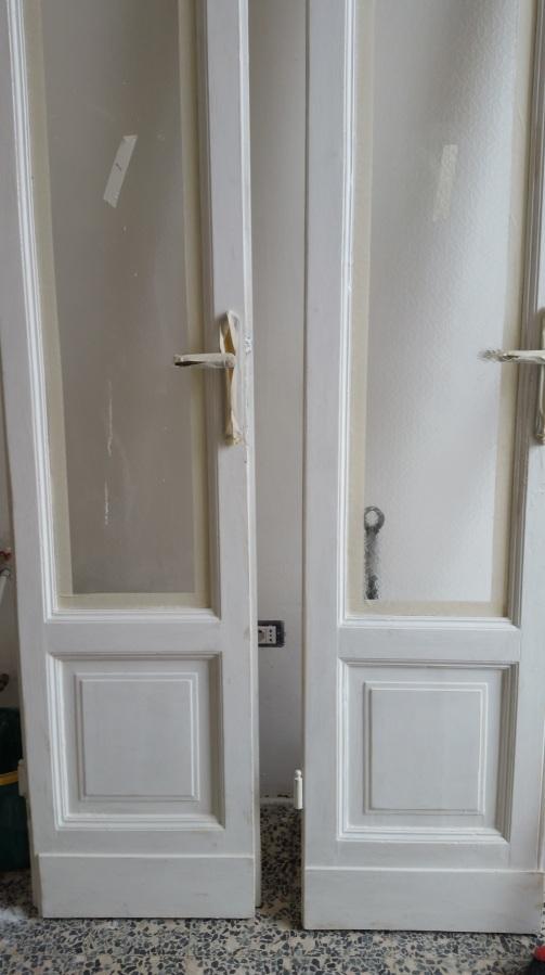 Verniciatura porte e stipiti in legno 09 ristrutturazione milano - Stipiti porte interne ...